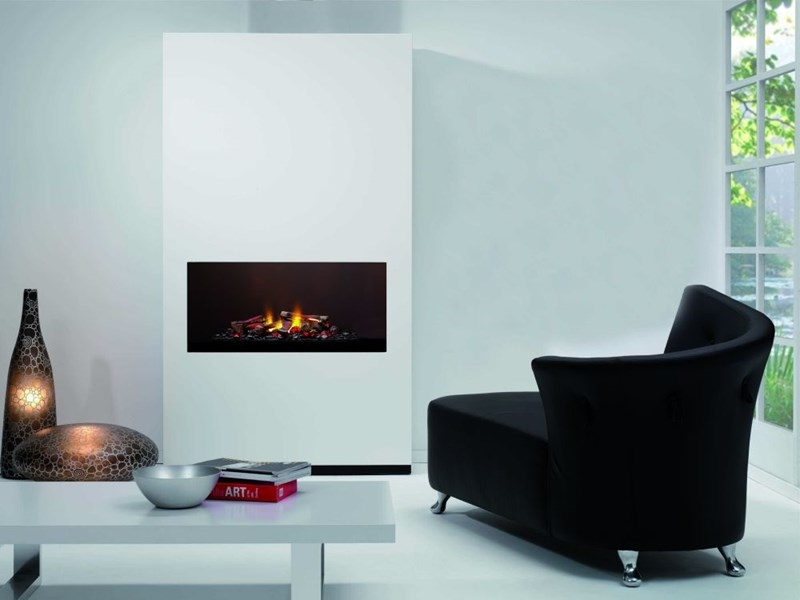 Ambiance Mystic Fire med glas bagplade